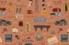 "Pattern ispirato a ""Grand Budapest Hotel"" (© Dan Lehman)"