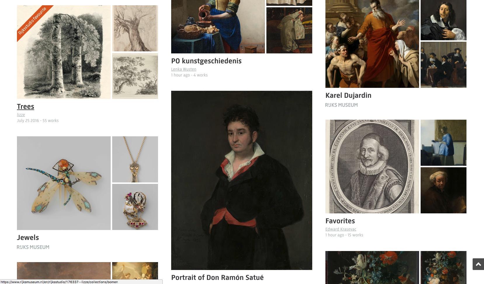 Illustrazioni, dipinti, gioielli, incisioni, mobili abiti: tra le migliaia di opere c'è di tutto