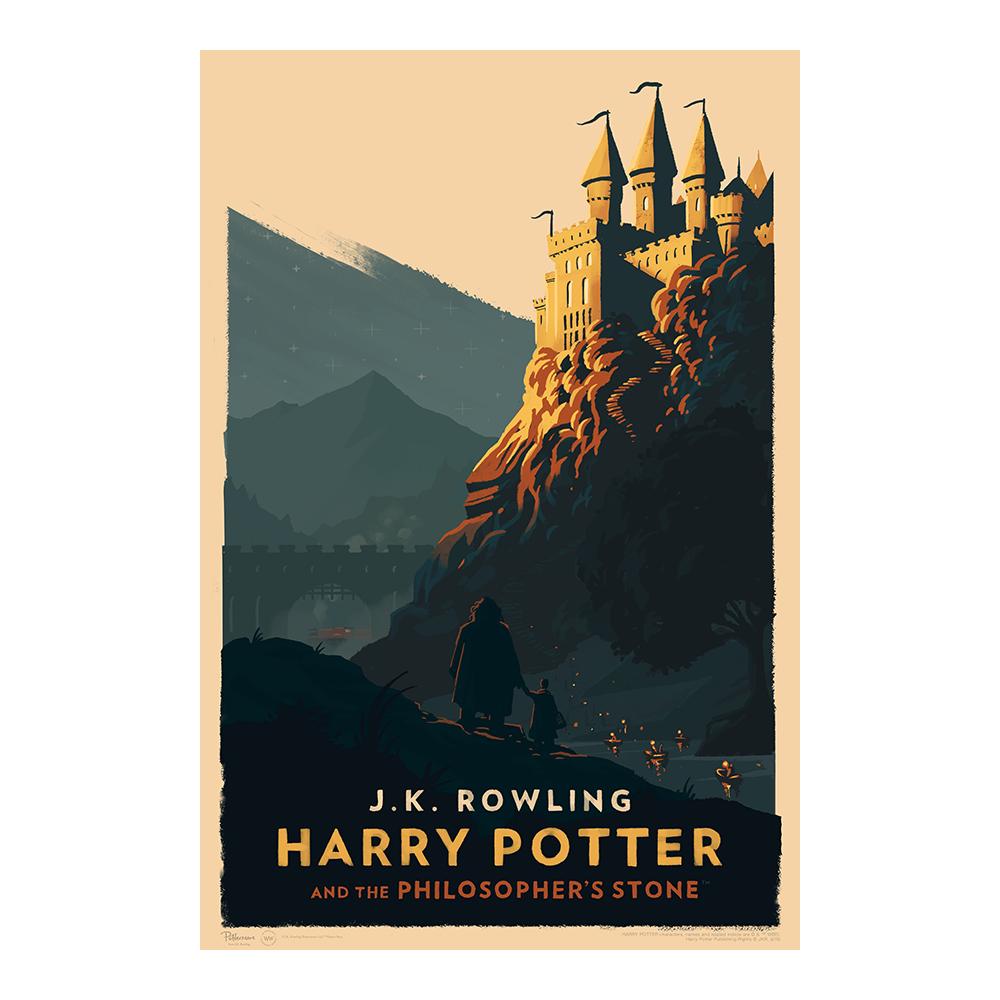Harry Potter e la pietra filosofale © Olly Moss