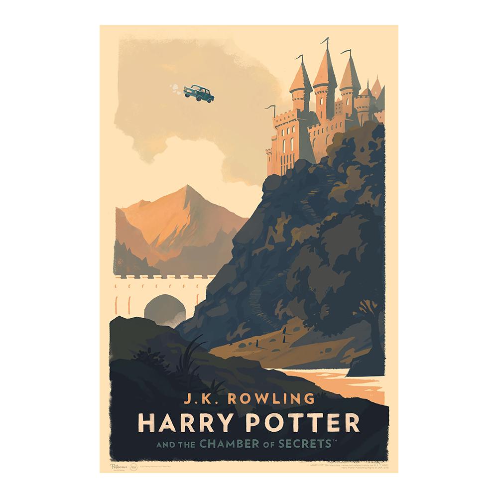 Harry Potter e la camera dei segreti © Olly Moss