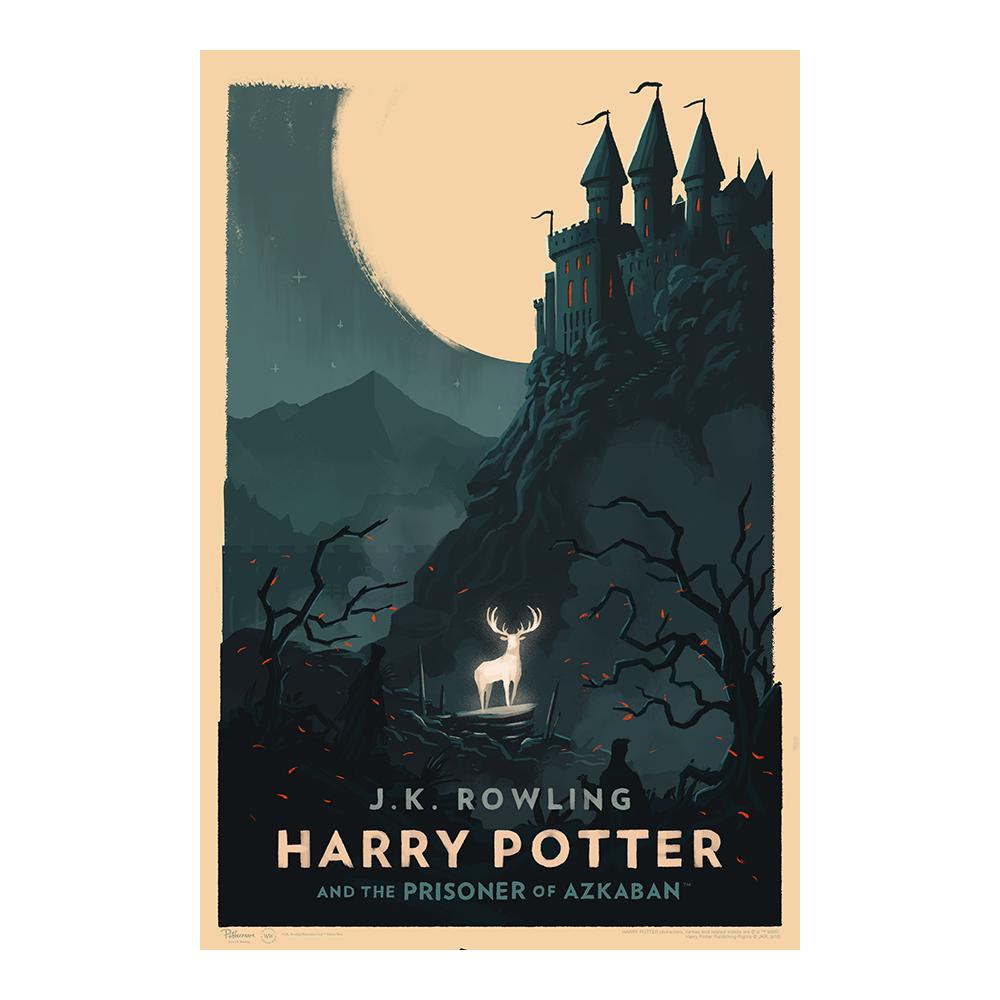 Harry Potter e il prigioniero di Azkaban © Olly Moss