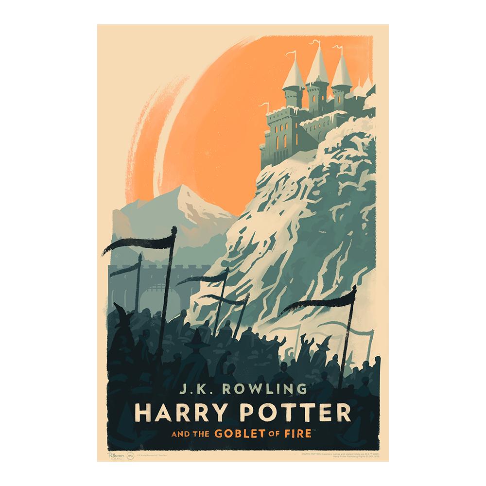 Harry Potter e il calice di fuoco © Olly Moss