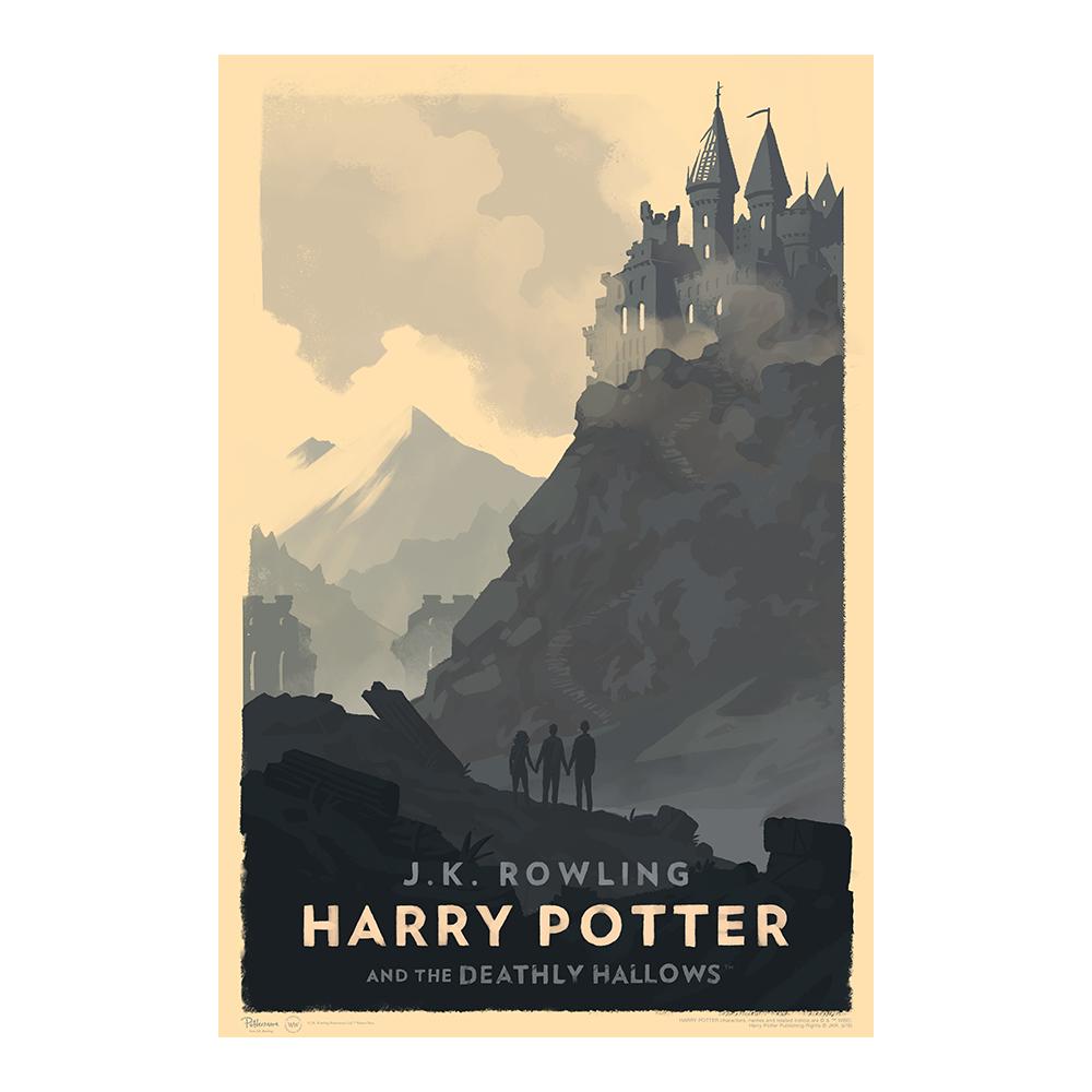 Harry Potter e i Doni della Morte © Olly Moss