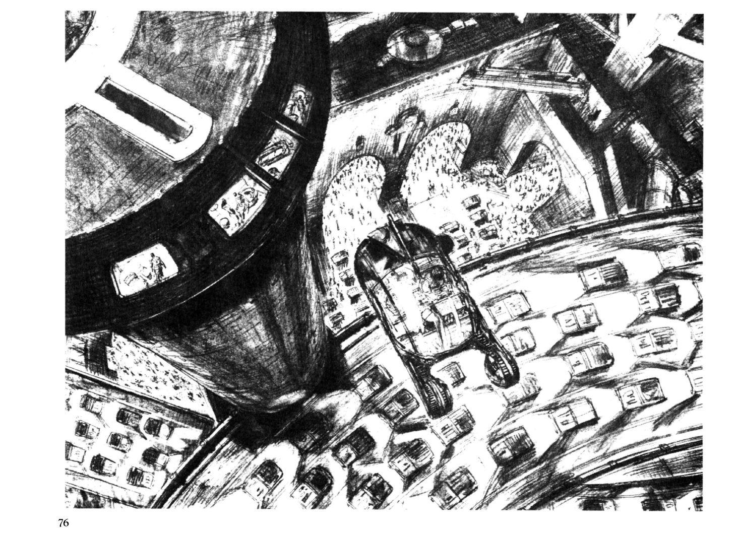 """Blade Runner sketchbook"", Blue Dolphin Enterprises, 1982"