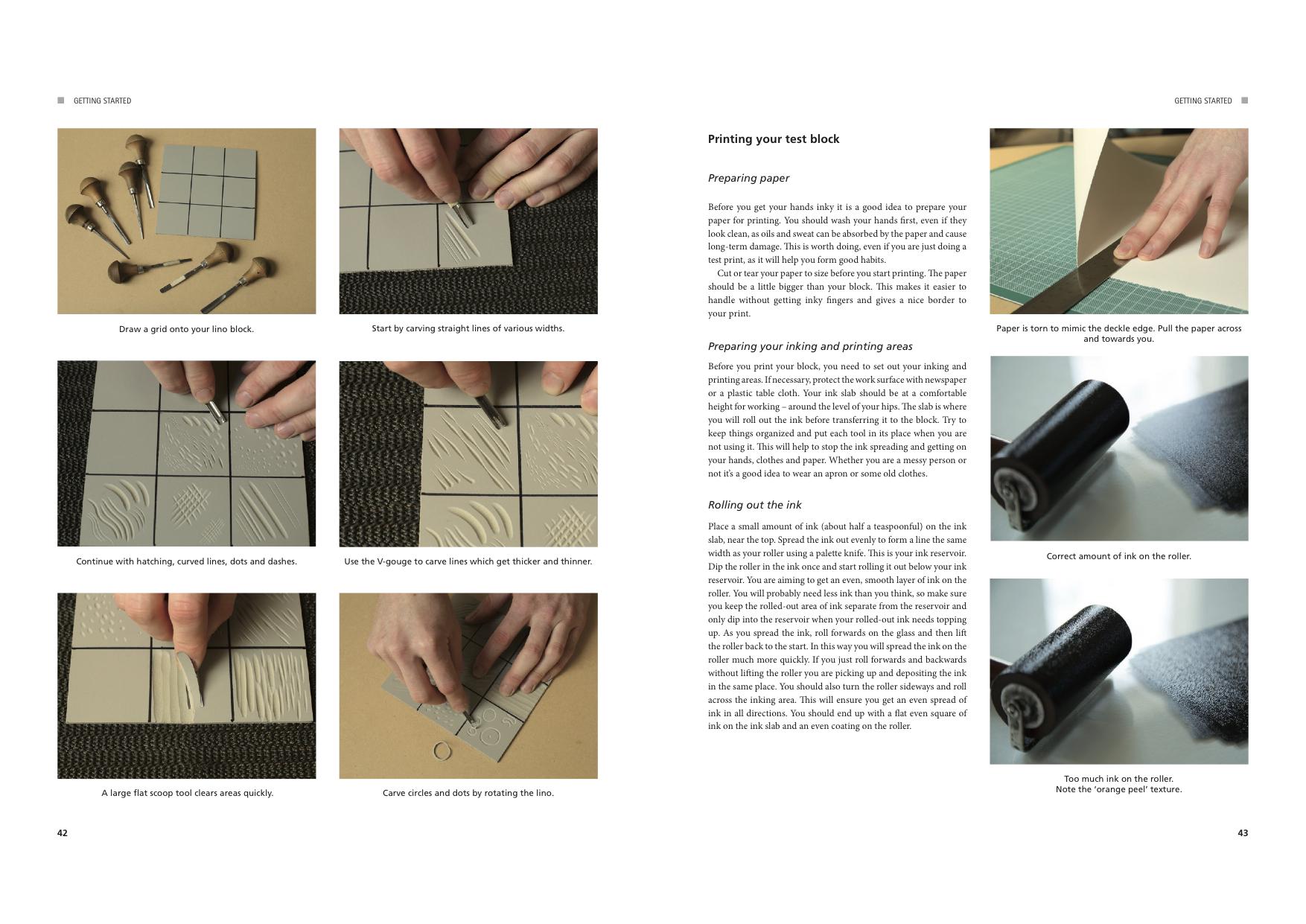 """Linocut for Artists and Designers"", di Nick Morley, Crowood Press, giugno 2016"