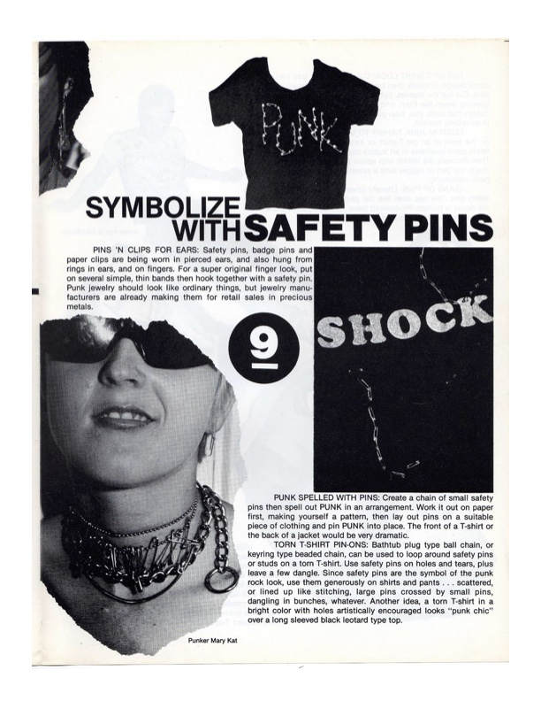 """""""How To Look Punk!"""", Mary Elizabeth 'Marliz' Norton, 1977"""
