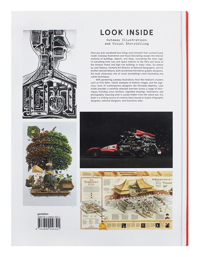 """Look Inside - Cutaway Illustrations and Visual Storytelling"", a cura di  Juan & Samuel Velasco, Gestalten, ottobre 2016"