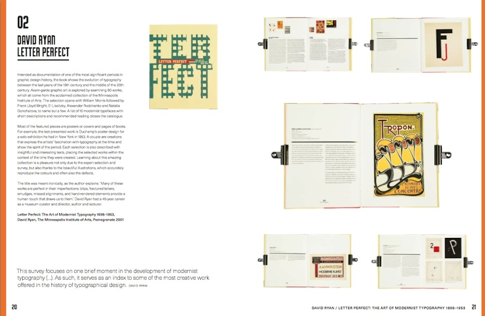 """""""One Hundred Great Books on Typography"""", a cura di Agata Toromanoff, Luster, 2016"""
