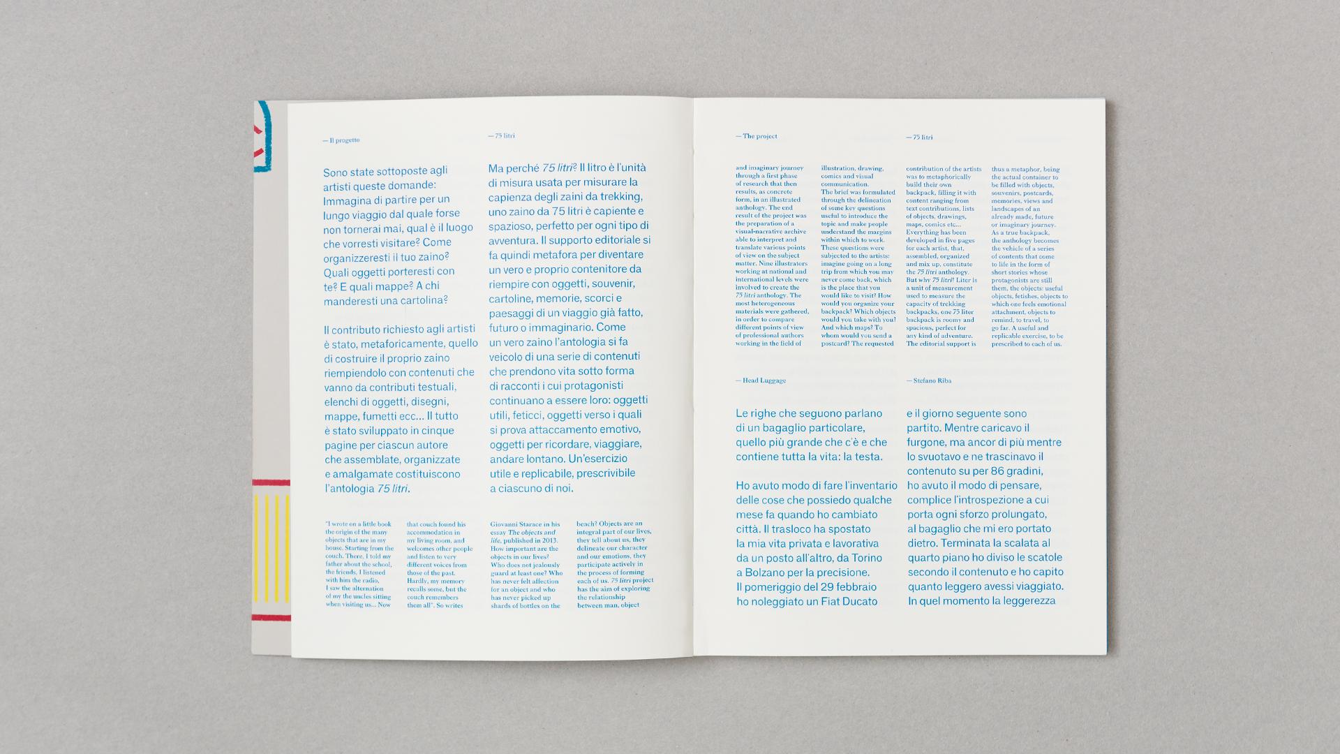 """""""75 litri"""", autoprodotto da tuta, stampato da Inuit (foto: tuta)"""