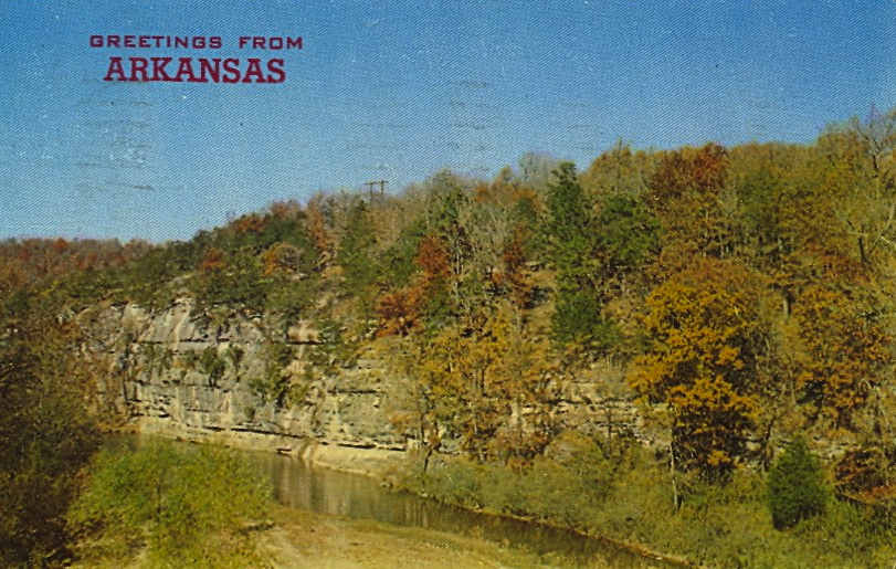 Greetings from Arkansas (courtesy Bad Postcards)