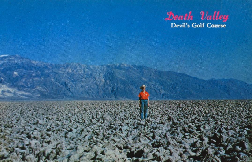 Death Valley (courtesy Bad Postcards)
