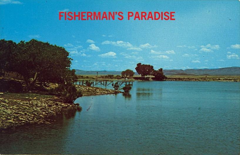 Fisherman's paradise (courtesy Bad Postcards)