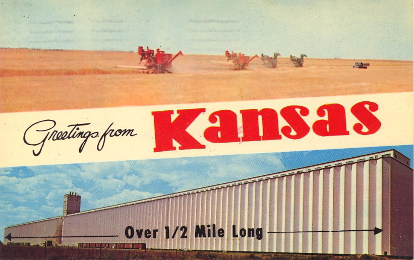 Greetings from Kansas (courtesy Bad Postcards)
