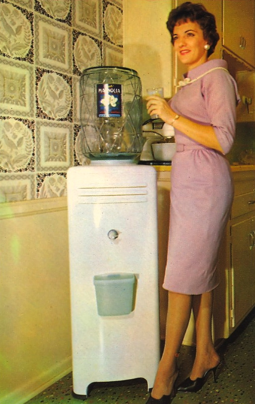 Modern Aire Water Cooler (courtesy Bad Postcards)