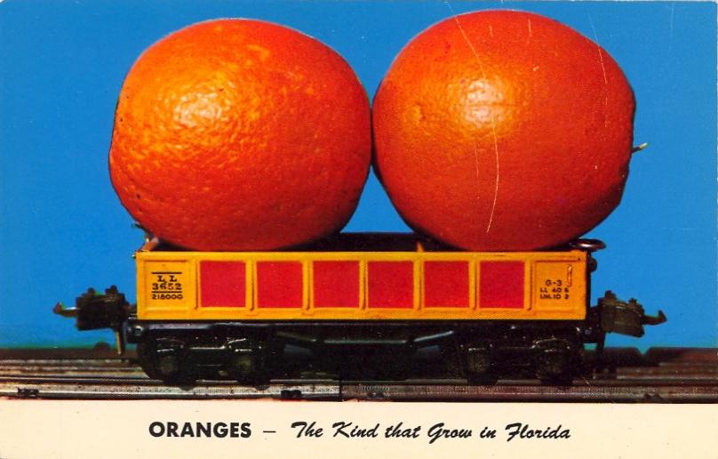 Oranges, Florida (courtesy Bad Postcards)