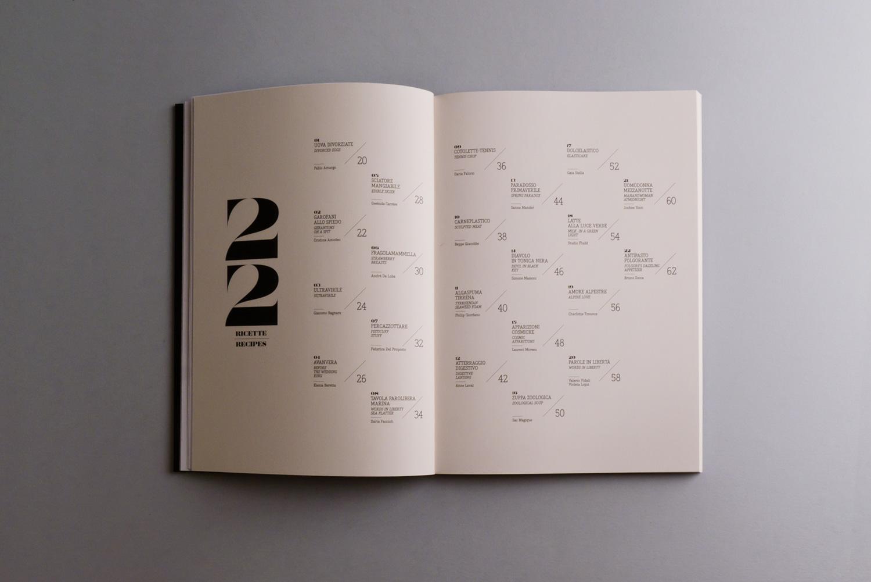 Qui sopra e di seguito, alcune foto del catalogo, progettato da Ilaria Faccioli ed Emanuele Gipponi di Due mani non bastano e stampato da Grafiche AZ di Verona