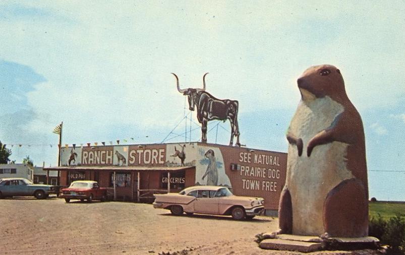 Ranch Store, South Dakota (courtesy Bad Postcards )