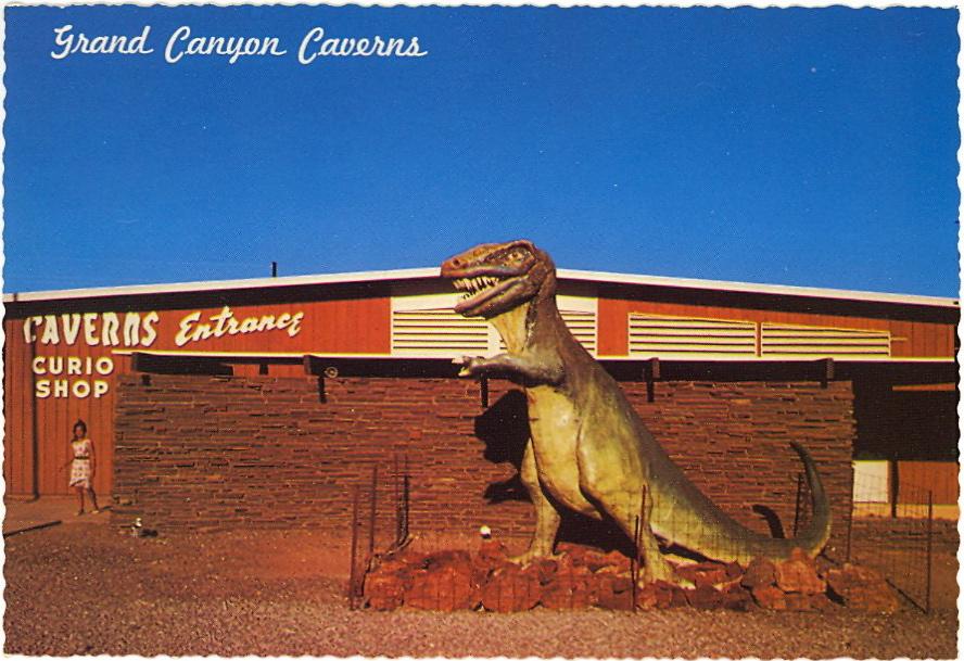 Seligman Shop, Arizona (courtesy Bad Postcards)