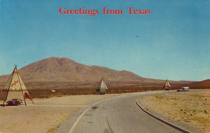 Greetings from Texas (courtesy Bad Postcards)