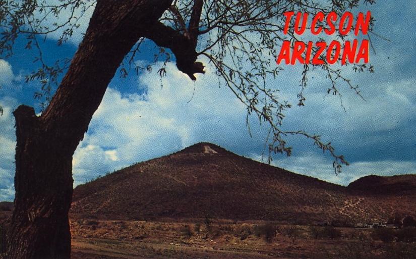 Tucson, Arizona (courtesy Bad Postcards)