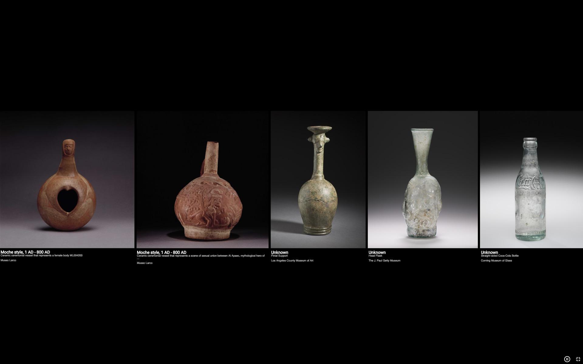 Come si arriva da un antico vaso cerimoniale a una bottiglia di Coca-Cola