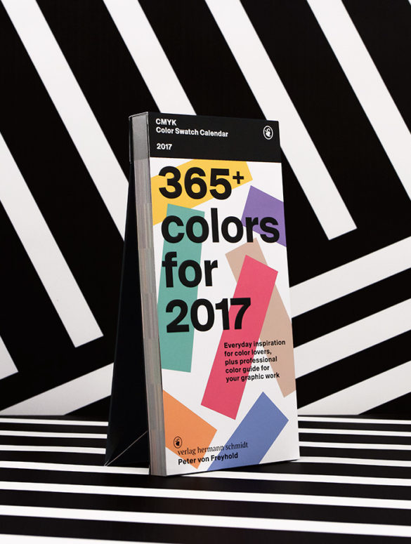 Color Swatch Calendar 2017 1
