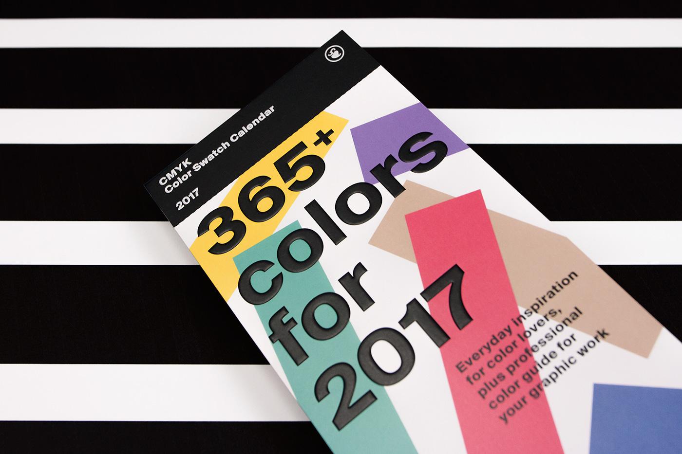 Color Swatch Calendar 2017 14