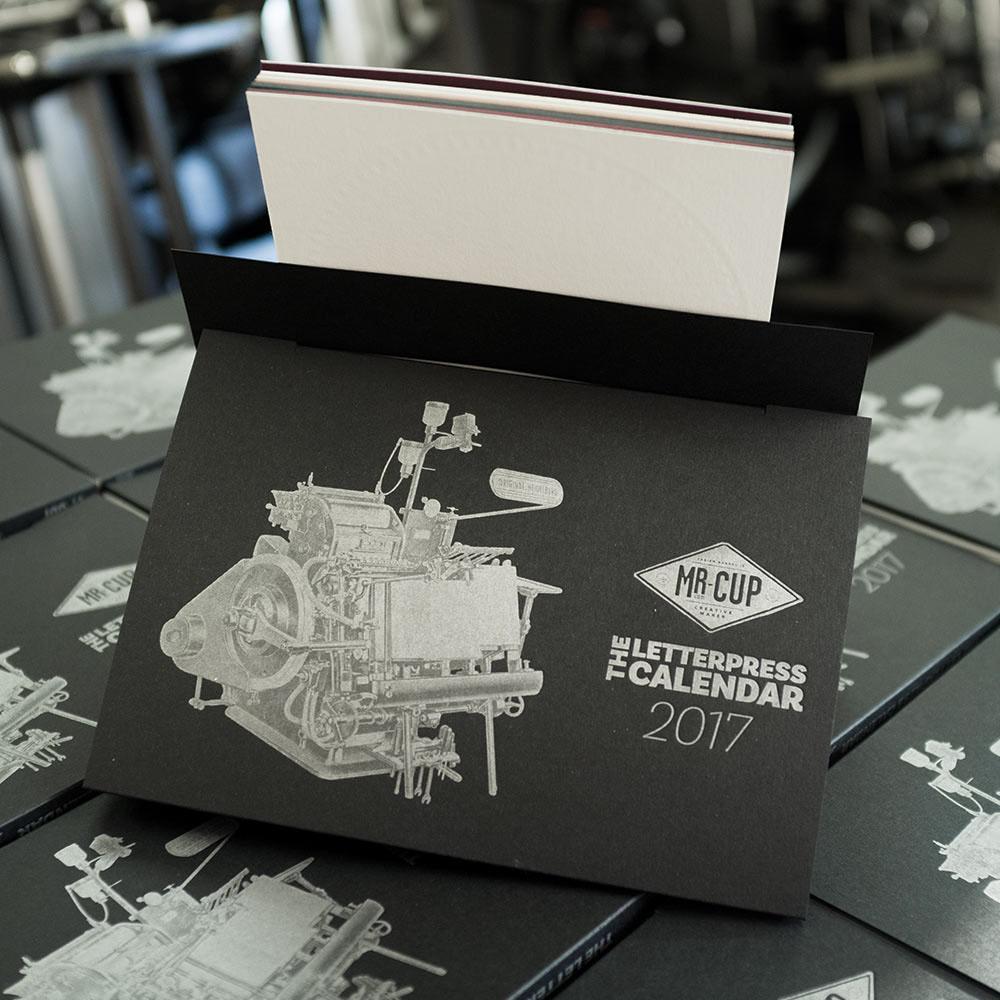 2017 letterpress calendar 8