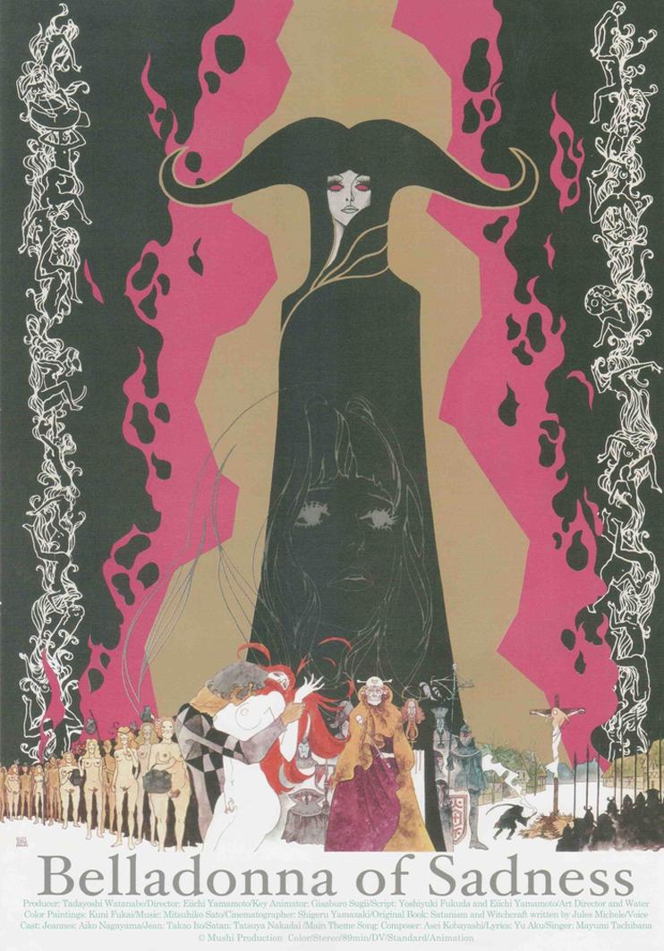 BELLADONNA OF SADNESS di Eiichi Yamamoto locandina
