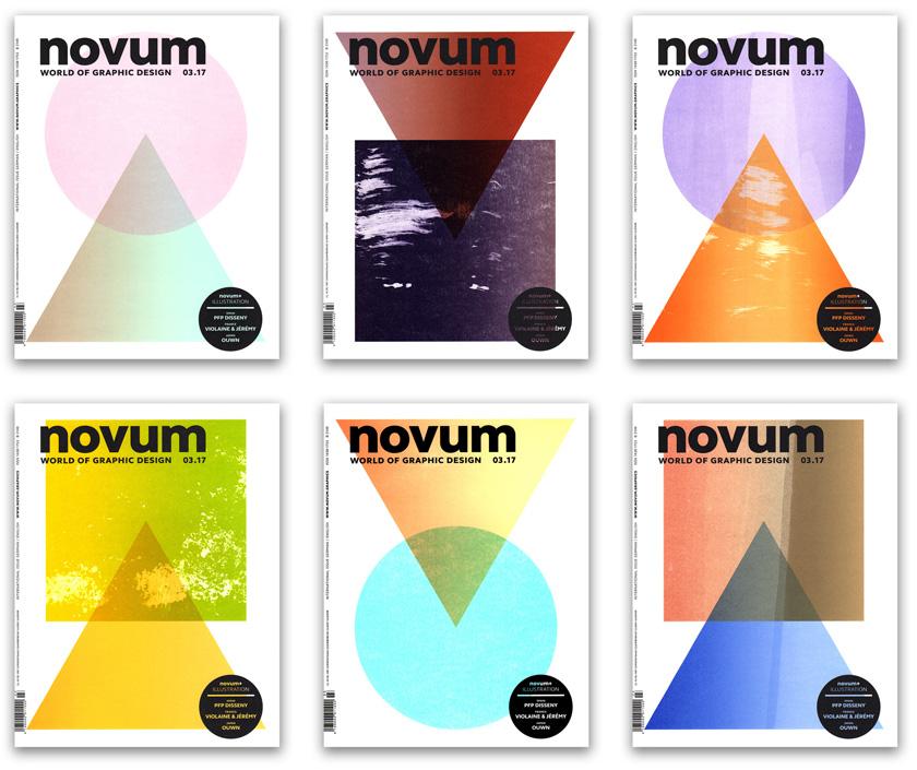 12500 Copertine Diverse Per L Ultimo Numero Della Rivista Novum