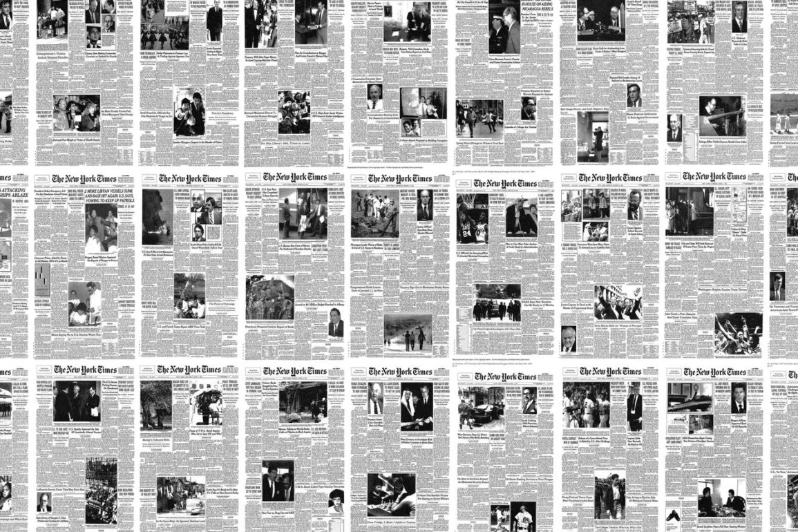ny times first page