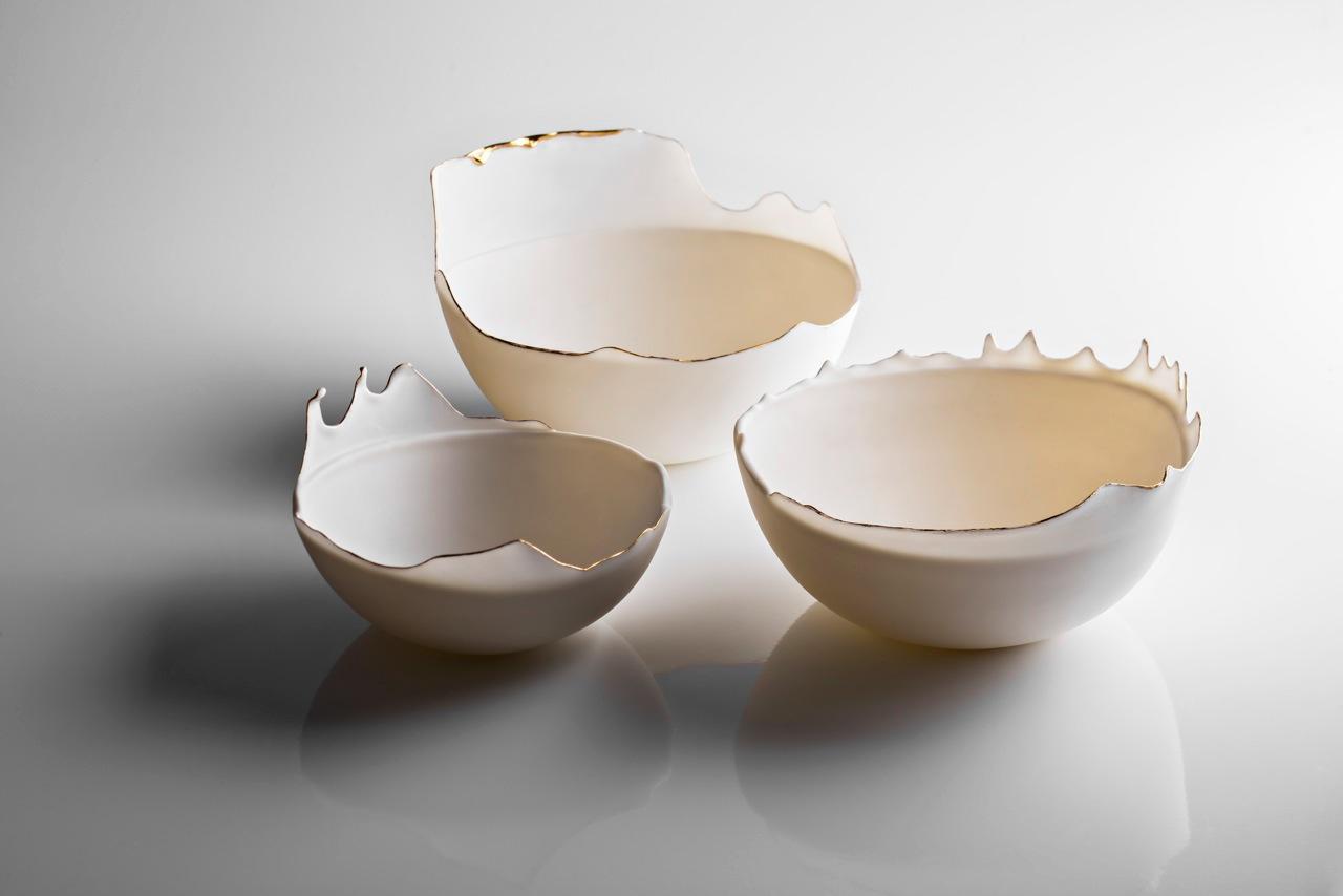 Fluid Porcelain Bowls 2