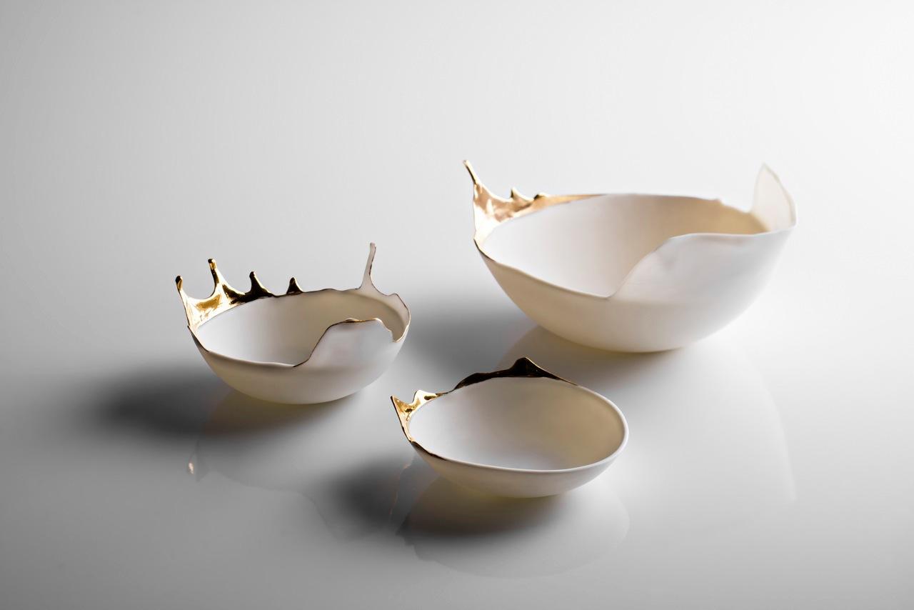 Fluid Porcelain Bowls 4