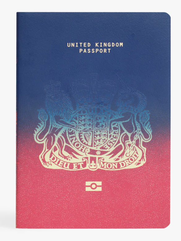 brexit passport design competition ian macfarlane first place hero