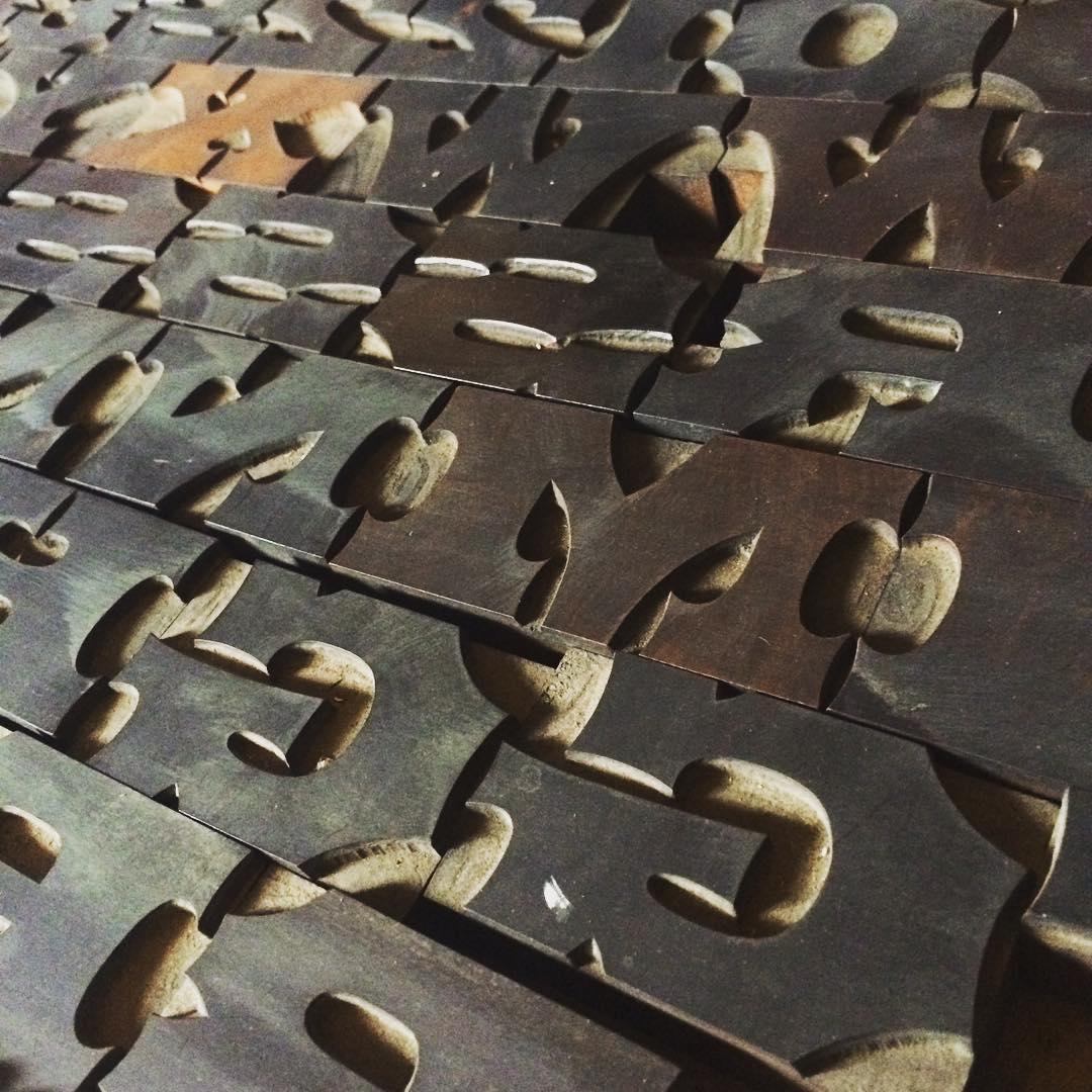 hamilton wood type 8