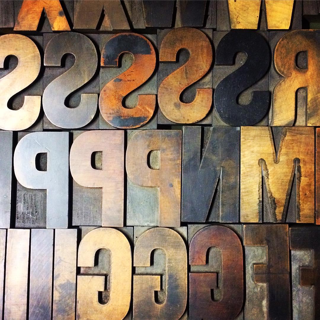 hamilton wood type 9