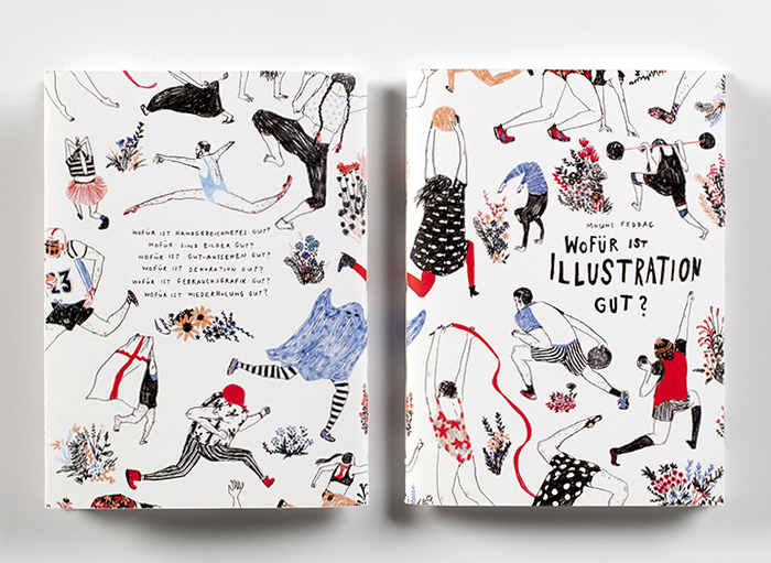 Illustrated Book Cover Notes : Illustration what s the point un libro di illustrazioni
