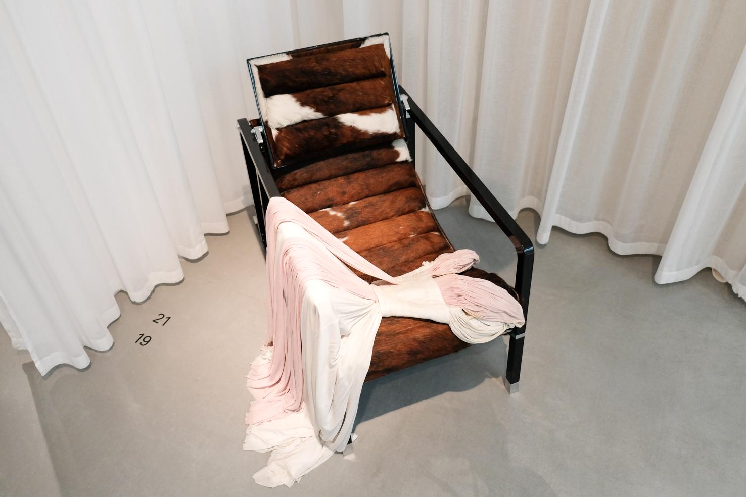 27 Madame Gres Gown 1955 Eoleen Gray Transat Chair 1926