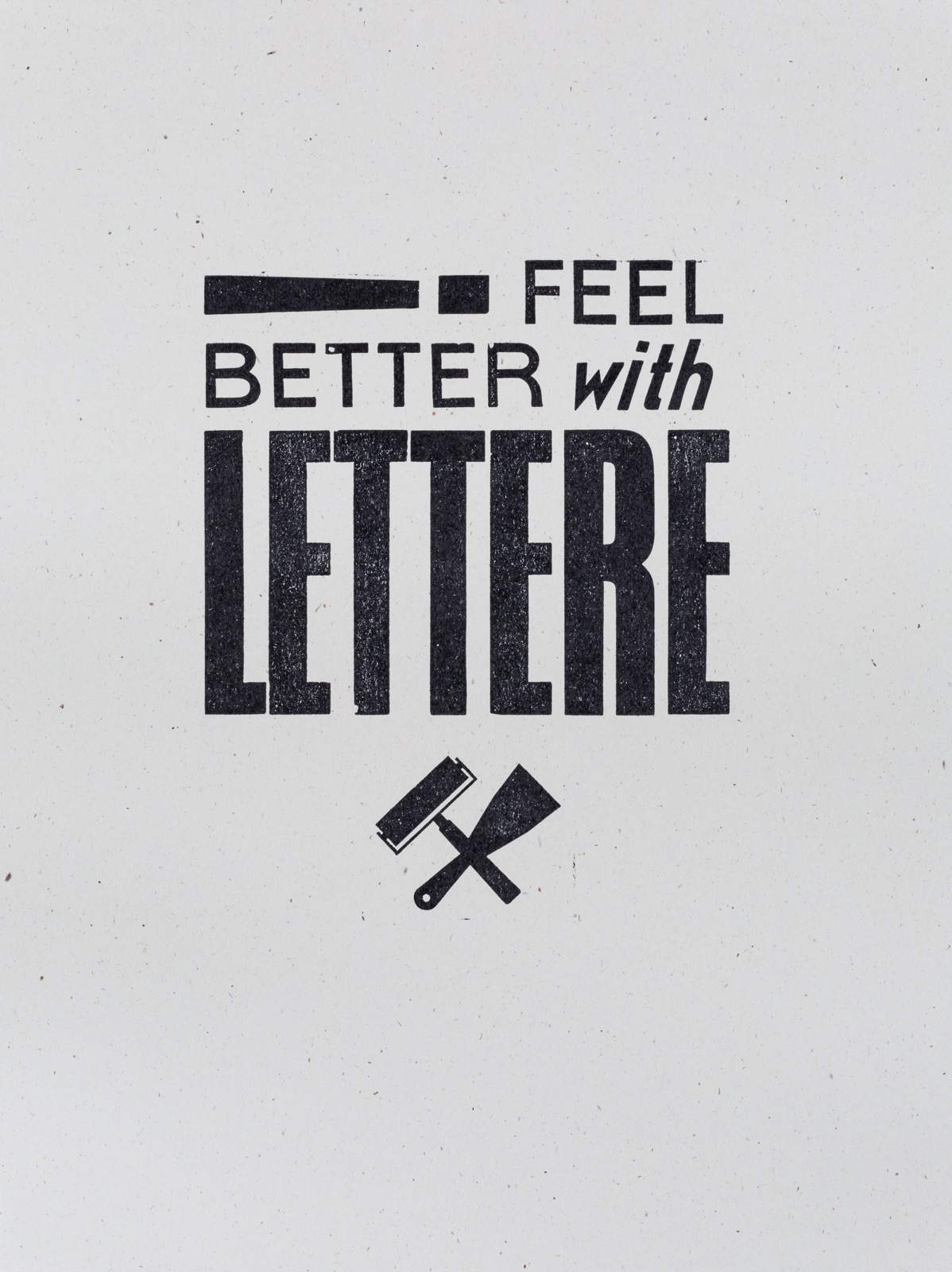 Feel better with letter