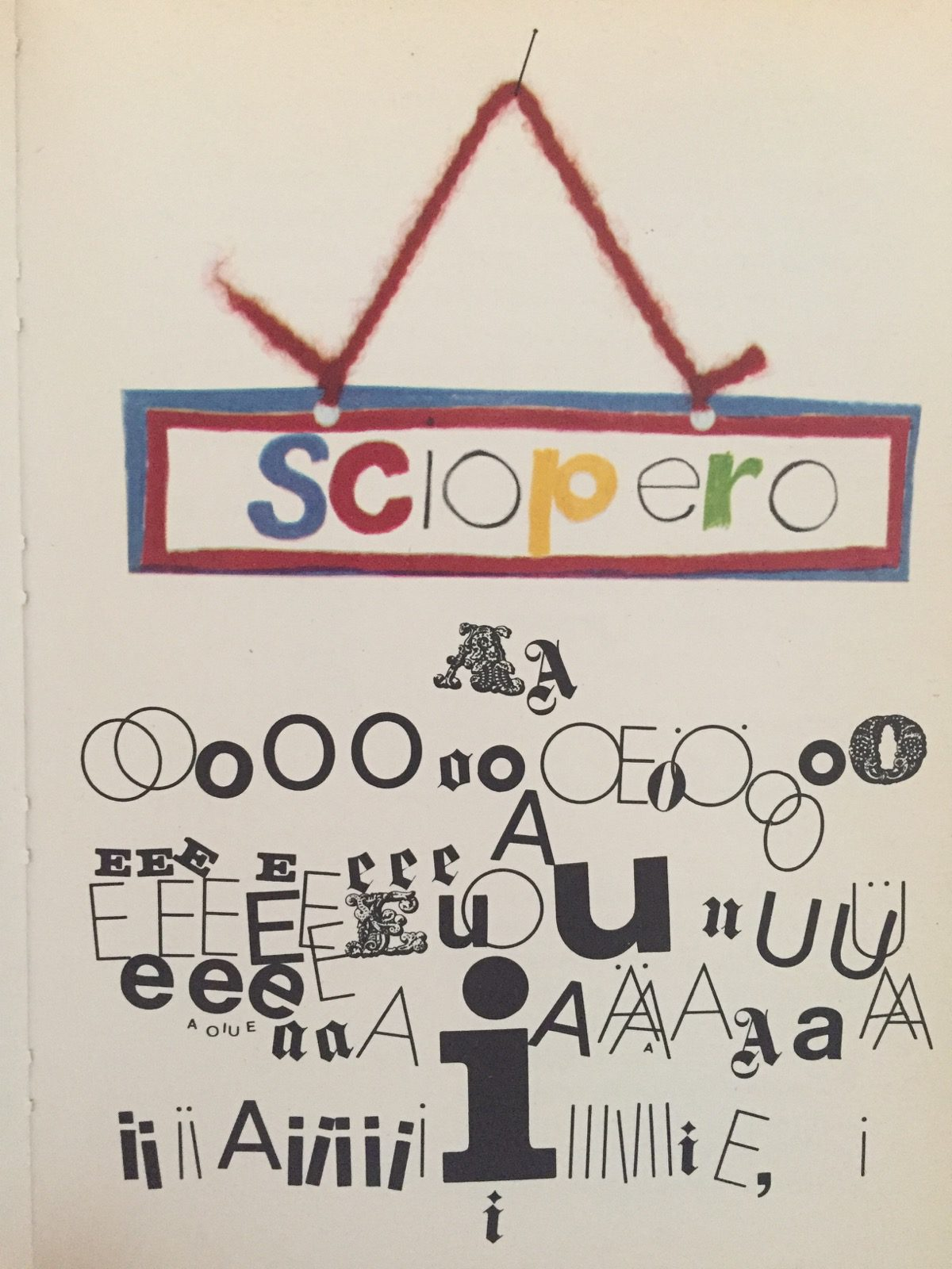 illustrazione di UTA GLAUBER per Il Gioco delle Cose di Marcello Argilli Bompiani 1971 e1497942853133