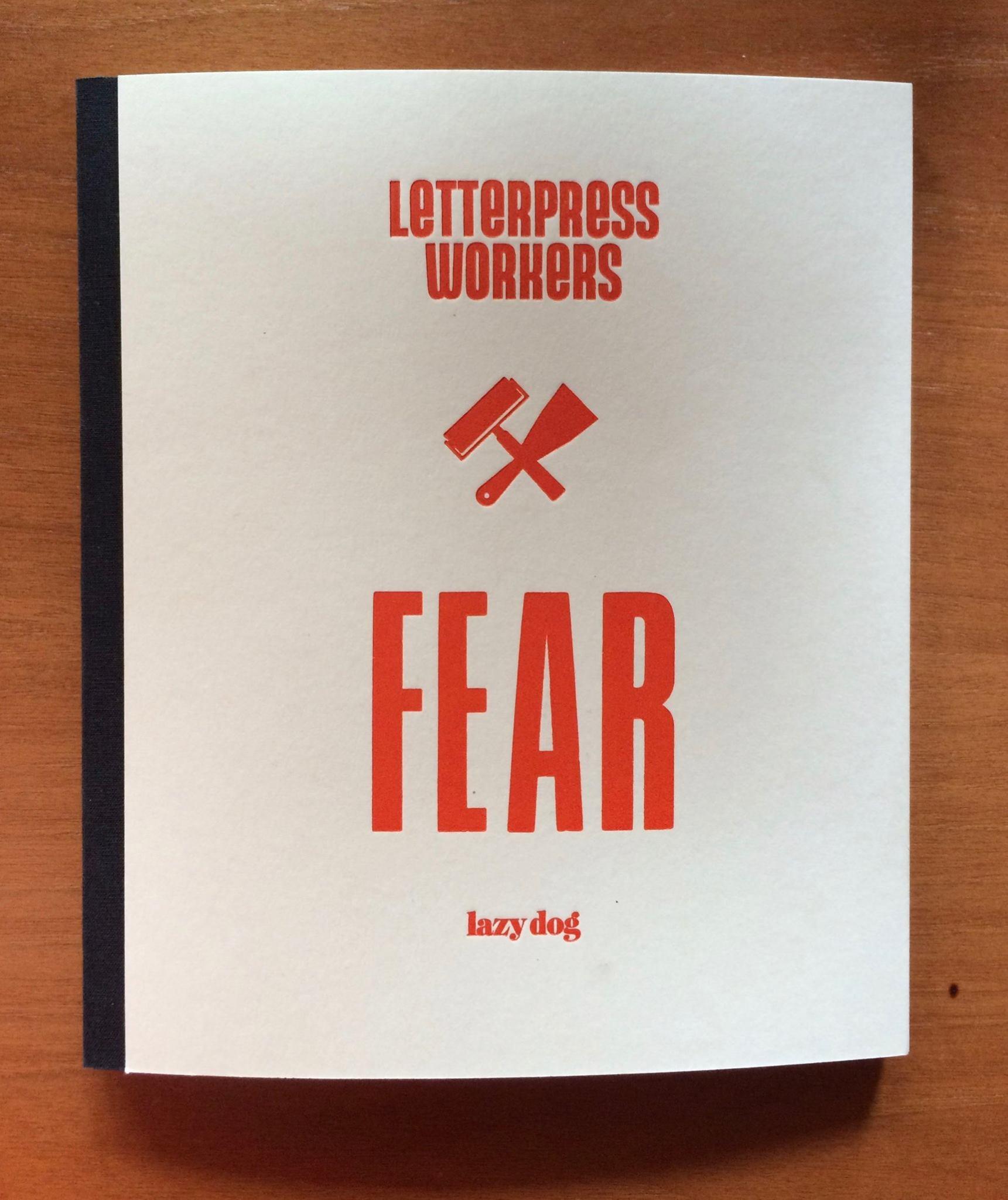 letterpress workers 2017 lazy dog 1