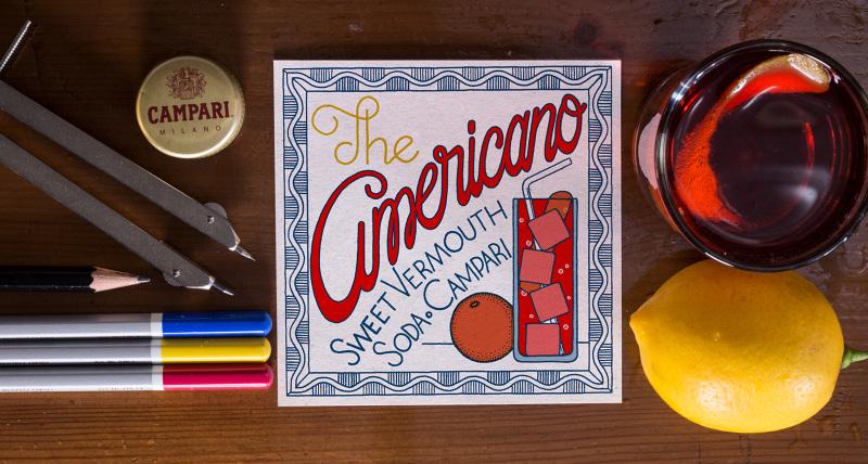 Letters liquor lettering ispirato ad alcuni dei pi for Manhattan cocktail storia