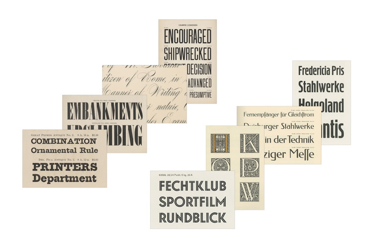 fifty type specimens frere jones 3