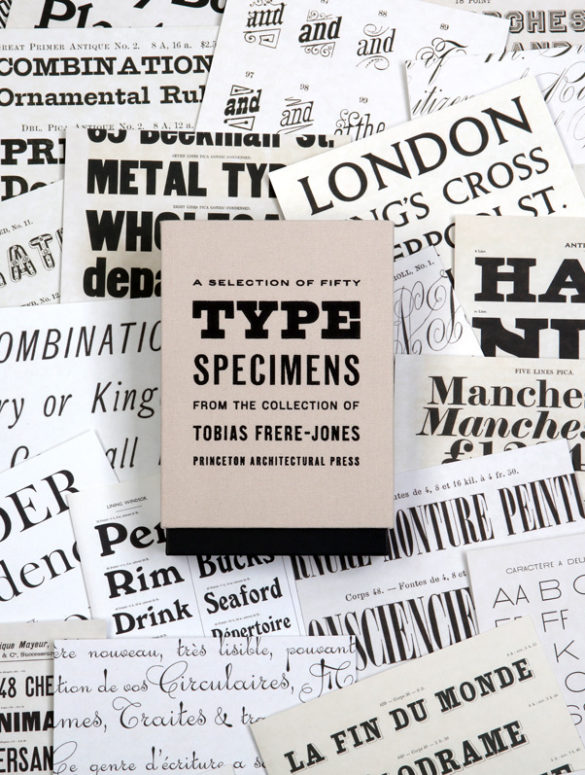 fifty type specimens frere jones 5