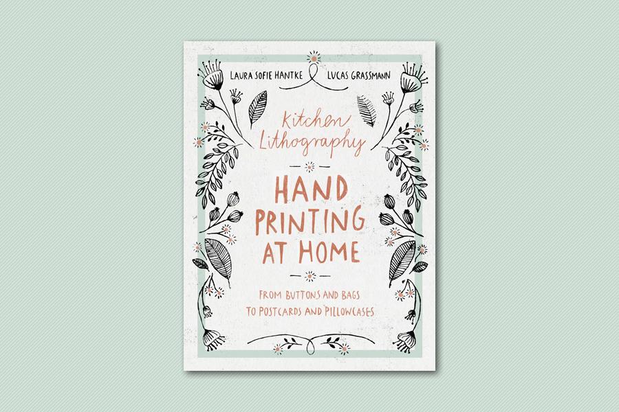Un libro insegna come creare una stamperia nella propria cucina