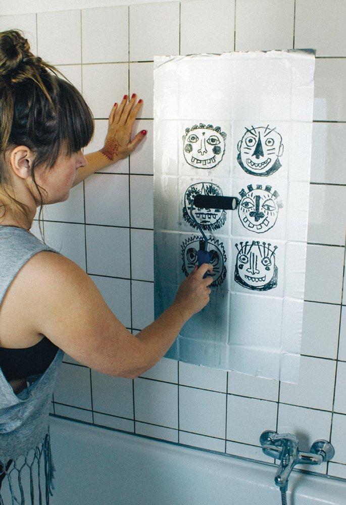 hand printing at home 7