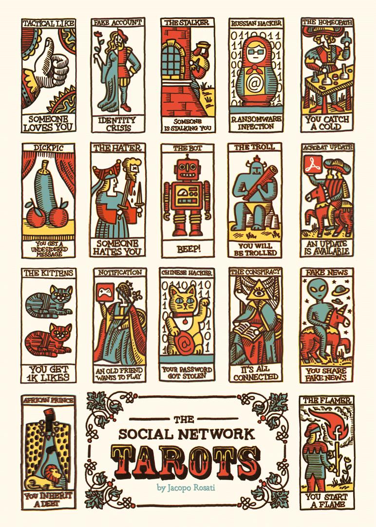 tarots serigrafia
