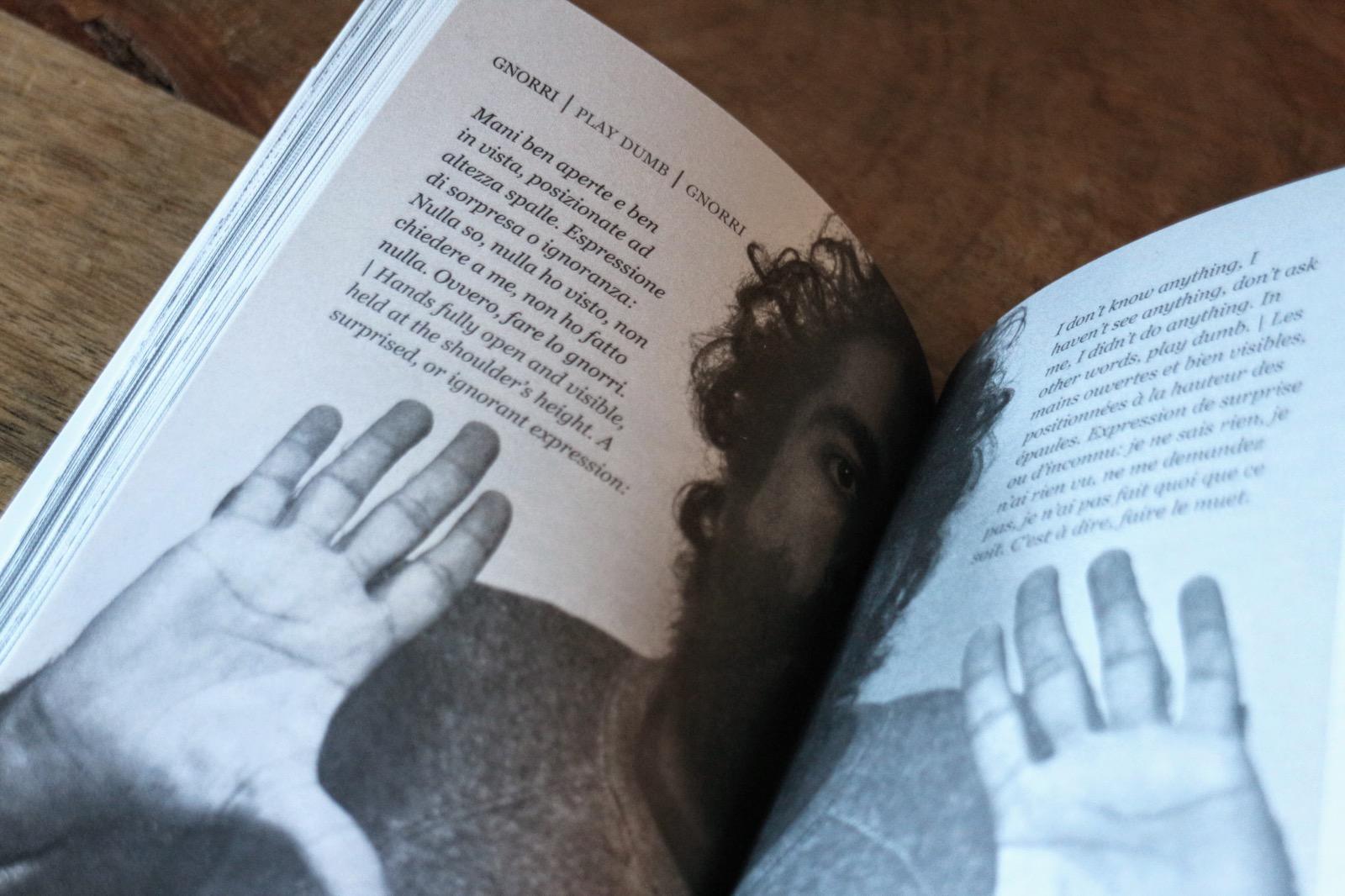 il dizionario dei gesti 9