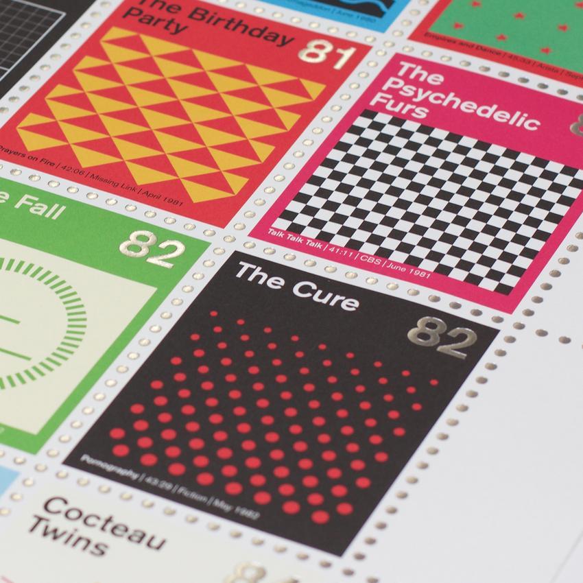 Stamp Albums Post Punk 10