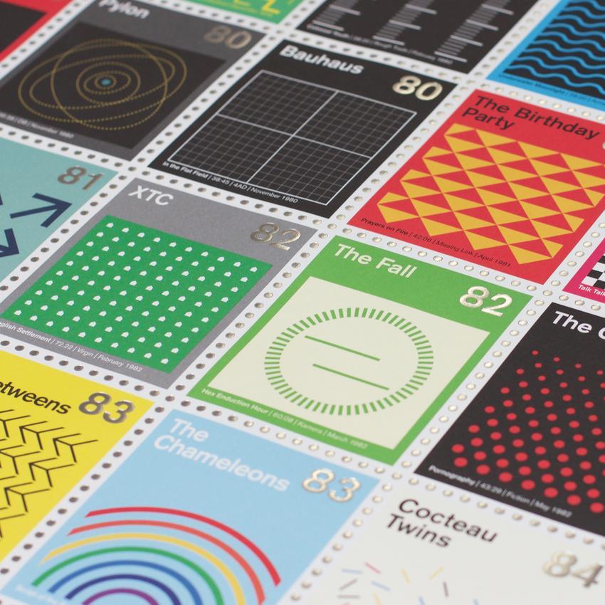 Stamp Albums Post Punk 11